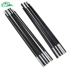 2pcs/set 3.35M*2 Fiberglass Tent Rod Outdoor Camping Pole  Spare Replacement 7mm Support Poles Accessories