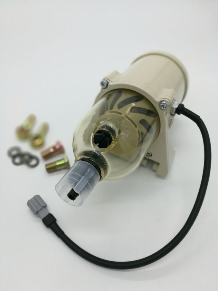 500FG Fuel water separator filter with heater 12V 24V diesel engine and 2010PM filter