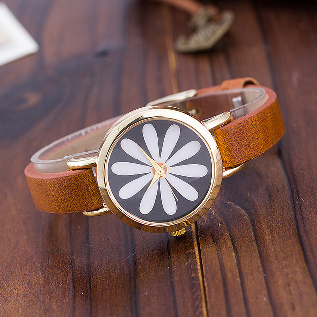 Zegarek damski Flower Daisy różne kolor