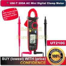 цена на UNI-T UT210C True RMS Auto-Range Digital AC/DC Voltage,AC Current Multimeter with NCV,Temperature Test