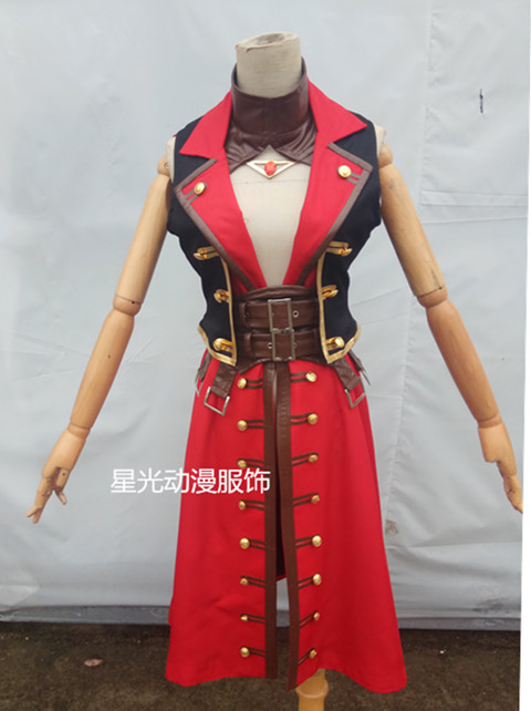 Francis Drake Fate/Grand Order Cosplay Francis Drake cosplay costume FGO cosplay custum-made 2