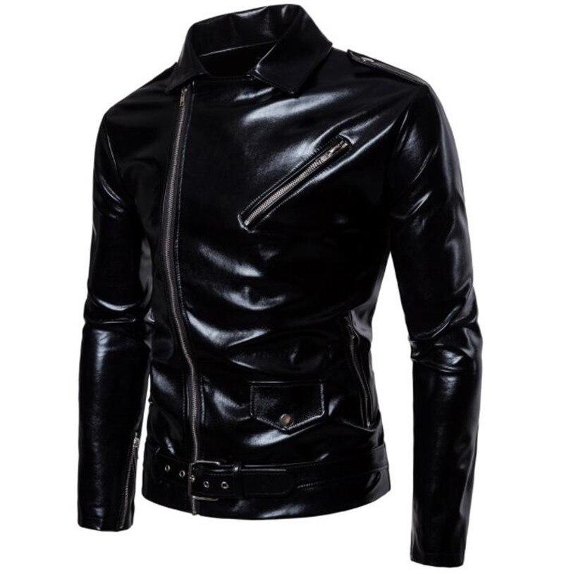 Nouveau veste de Moto rétro hommes vestes de Moto veste en cuir de Moto classique Vintage veste en simili cuir vêtements de Moto