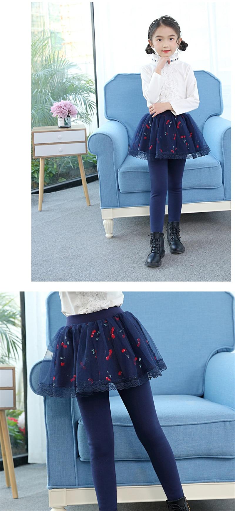 teenage girls legging with skirt07