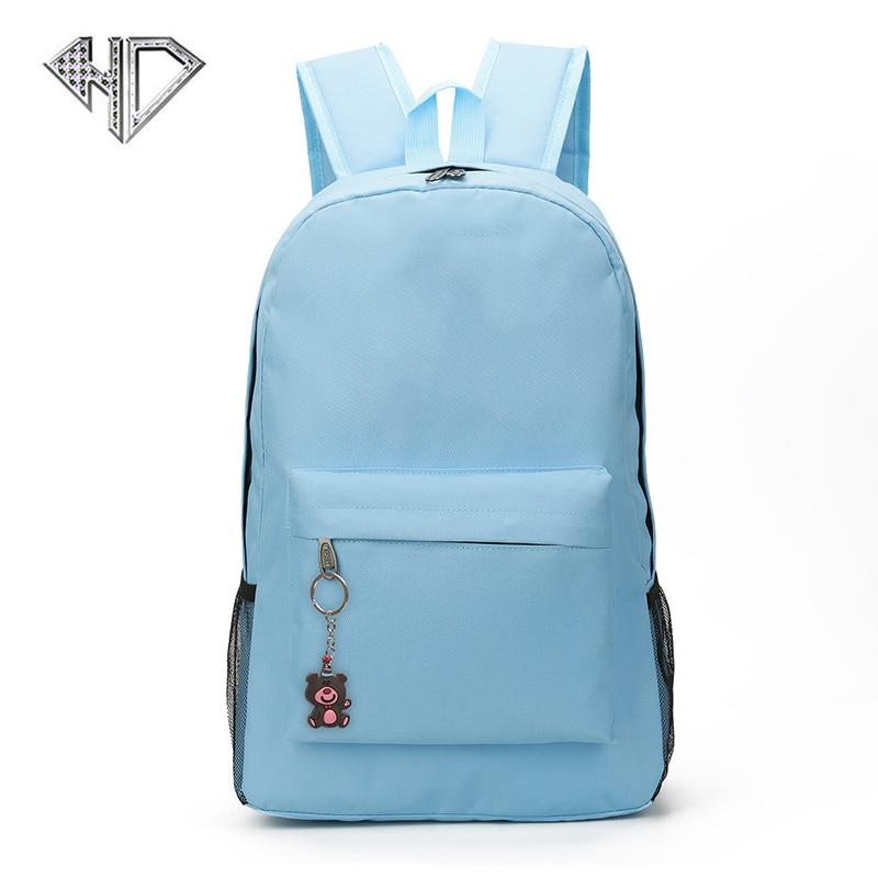Brand Backpack Women baby Schoolbag Back Pack Leisure Korean Ladies Knapsack Laptop Travel Bags for School Teenage Girls Mochila