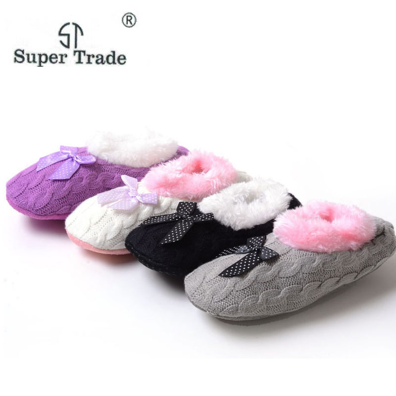 New Style Women's Slippers Home Cotton Padded Flats Indoor Home Plush Slippers Woolen Yarn Slippers For women 4 Colors car usb sd aux adapter digital music changer mp3 converter for skoda octavia 2007 2011 fits select oem radios