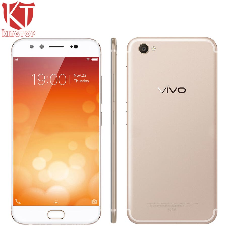 Original VIVO X9 Mobile Phone 4GB RAM 64GB ROM Snapdragon 625 Octa Core 2.0GHz 5.5 inch Dual Front Camera 20MP+8MP Fingerprint