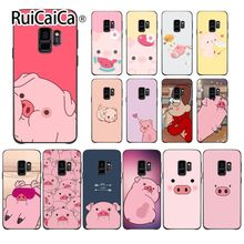 Ruicaica Cartoon Anime Gravity Falls pig Special Offer Luxury Phone Case Cover For GALAXY s7 edge s8 plus s9 s6