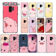 Ruicaica Cartoon Anime Gravity Falls pig Special Offer Luxury Phone Case Cover For GALAXY s7 edge s8 plus s9 plus s6 s6 edge(China)