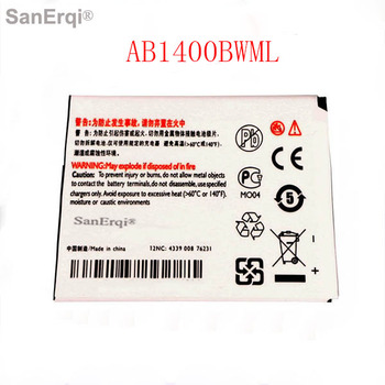 10pcs AB1400BWML Battery Replacement For PHILIPS S308 CTS308 for Xenium 1400 mAh Full Capacity Tracking Number