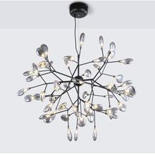 Modern Firefly Chandelier Lighting Nordic G4 Led Lustre Chandeliers For Living Room Butterfly Hanging Lamp Glass Fixtures