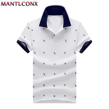 ec21df54ef3 MANTLCONX 2019 nuevo Mens camisa de Polo de las marcas de hombre de manga  corta de los hombres de la marca camisa de Polo de los hombres de verano de  manga ...