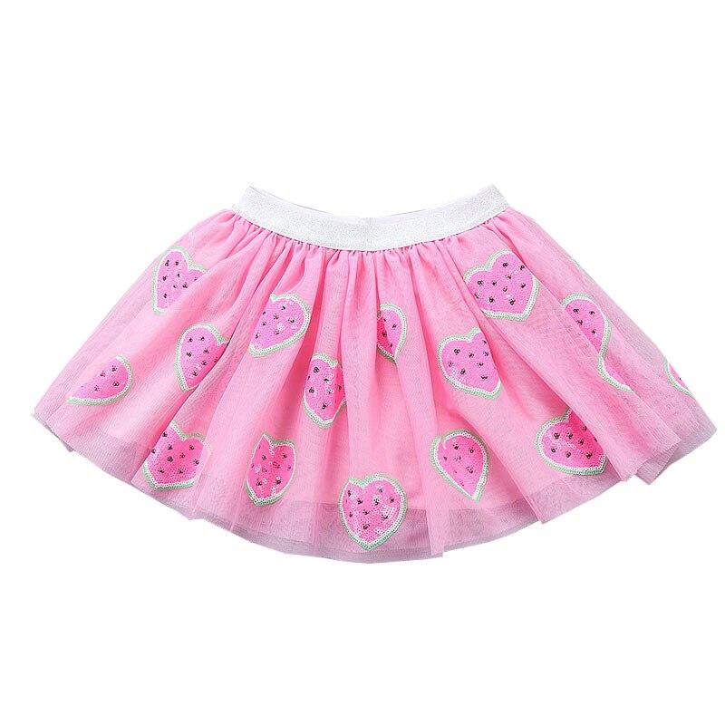 100% QualitäT Kinder Vestidos Kinder Mädchen Kleidung Röcke Pailletten Tutu Röcke Cartoon Nette Reizende Tutu Mädchen 2-7 T Röcke Prinzessin Kinder Rock