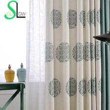 Chinese Style Embroidered Curtains for Living Room Quality Window Curtain Gardinen Drapes Cortinas Rideaux Free Shipping CL-69