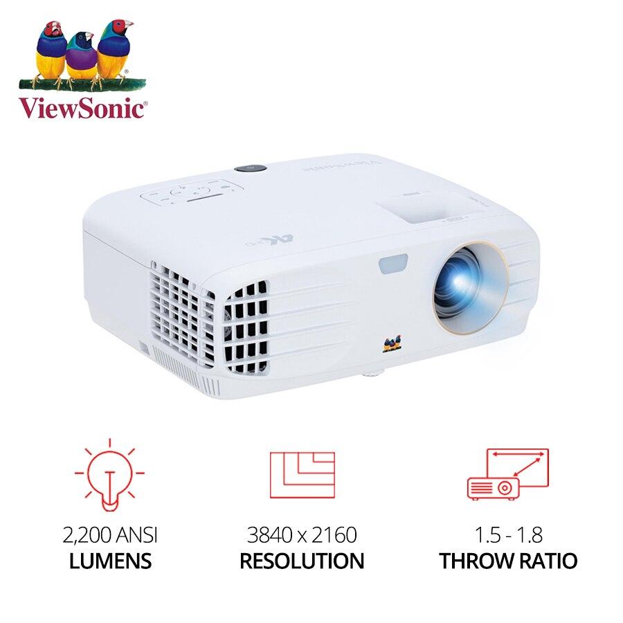 ViewSonic PX727 4K Projector Ultra FULL HD video DLP Beamer Home Cinema 3840x2160 2200 ANSI Lumens