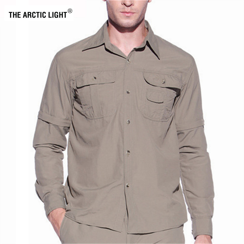 LIGHT Hunting-Shirt ARCTIC Fishing Quick-Dry Summer Breathable Male THE Men Rock Climbing