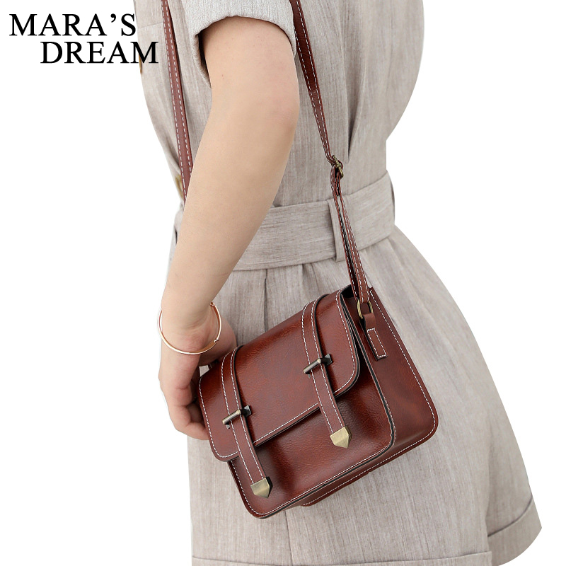Mara's Dream Fashion Flap Women Messenger Bags High Quality Cross Body Bag PU Leather Hasp Mini Female Shoulder Bag Handbags