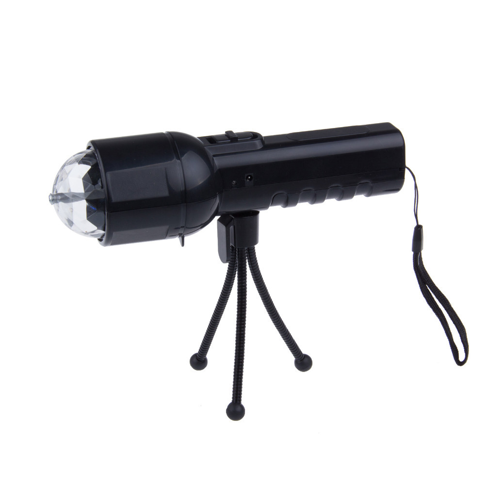 3W LED Flashlight disco laser stage Light Colorful For Lighting and stage dual use freeshipping niugul dmx stage light mini 10w led spot moving head light led patterns lamp dj disco lighting 10w led gobo lights chandelier