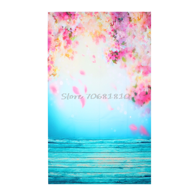 Blooming Flower Photo Background Vinyl Studio Photography Backdrops Prop DIY #R179T# Drop shipping 2m 3m vinyl custom children photography backdrops prop photo studio background jlt 8306