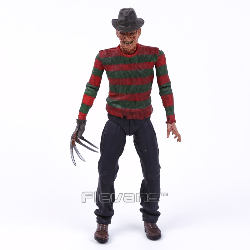 NECA A Nightmare on Elm Street 3: Dream Warriors PVC Action Figure Collectible Model Toy 7inch 18cm neca the texas chainsaw massacre pvc action figure collectible model toy 18cm 7 kt3703