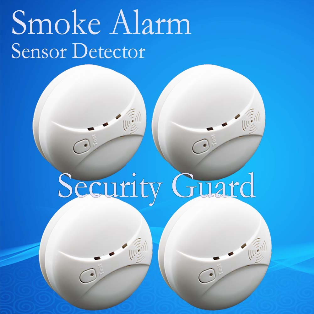 buy free shipping hot selling new 433 wireless smoke detector fire alarm sensor. Black Bedroom Furniture Sets. Home Design Ideas