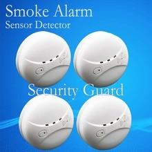 Бесплатная доставка продажи новых 433 детектор дыма пожарной сигнализации датчик для внутреннего дома безопасности сад безопасность SM-03