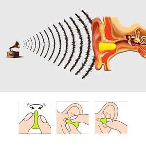 Image 5 - Tapones para los oídos de Honeywell, espuma de alta calidad, protección contra el ruido para los oídos, sueño a prueba de sonido, suministros de seguridad para el trabajo, 10 par/lote