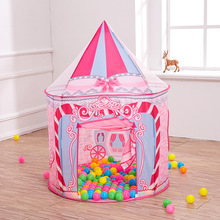 Children's tent indoor princess girl outdoor play house home play house yurt toy house for girl toy gifts new arrival 2 colors girl pop up outdoor indoor cottage children tent house children play game house mosquito best gifts toy