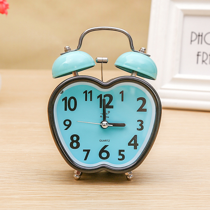 2018 Alarm Clock Saat Reloj Lazy Fruit Clock Despertador Wekker Bedroom  Child Student Bedside Table Alarm Clocks Home Decoration In Alarm Clocks  From Home ...