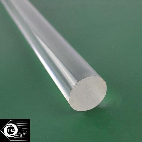 OD20x1000mm Acrylic Rod Clear Extruded Plastic Transparent Bar Home Improvement Aquarium
