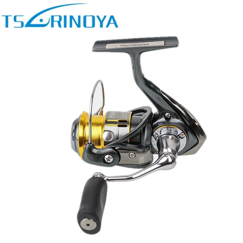 Tsurinoya 9 + 1BB Metal Giro De Pesca Reel/5.2: 1/4 kg FS 800/1000 Carretes Carretilha Carretilhas de Pesca de Água Salgada Lure Moulinet Peche