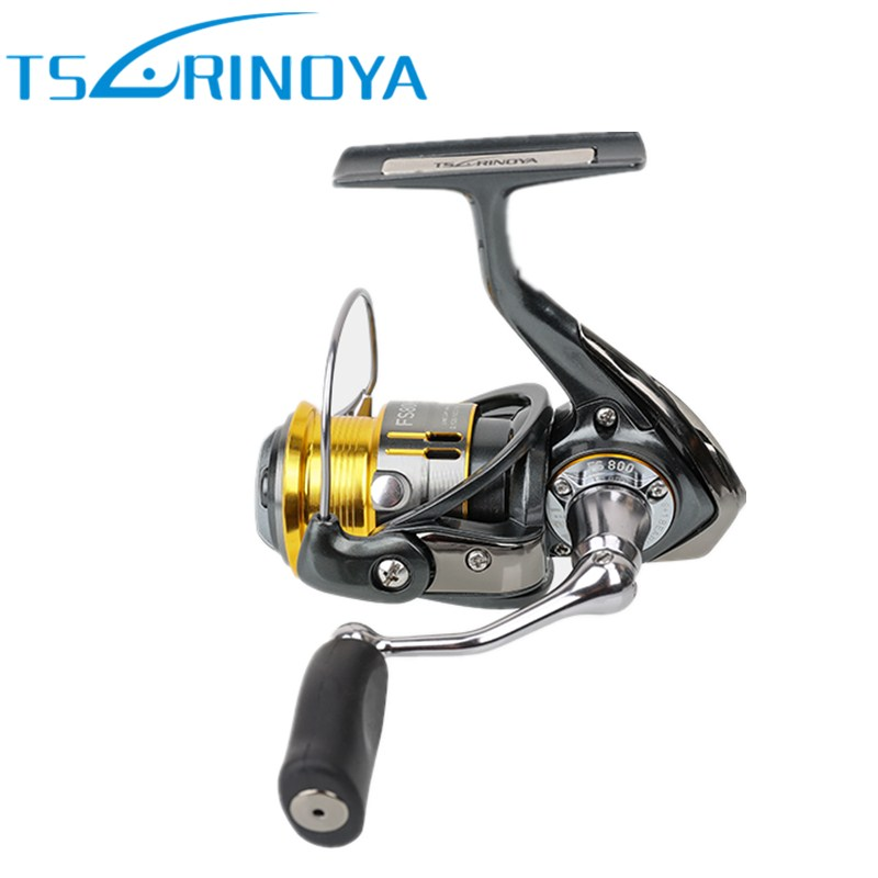 Tsurinoya Metal Spinning Fishing Reel 9+1BB/5.2:1/4kg FS 800/1000 Carretes Pesca Saltwater Lure Reels Carretilha Moulinet Peche tsurinoya tsp2000 spinning fishing reel with spare spool 11 1bb 5 2 1 full metal jig boat lure reels carretes pesca molinete