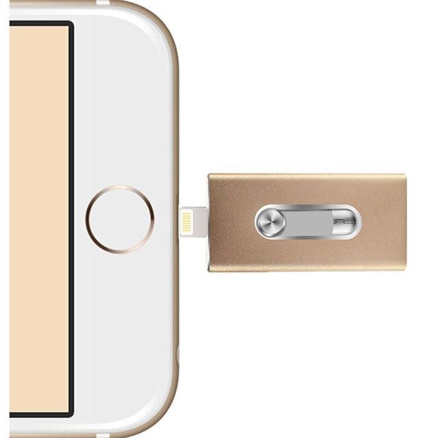 Lightning/OTG Usb Pen Drive 64gb 32gb 16gb 8gb for iPhone 5/5s/5c/6/6 Plus/ipad/PC/MAC Pendrive usb flash Drive