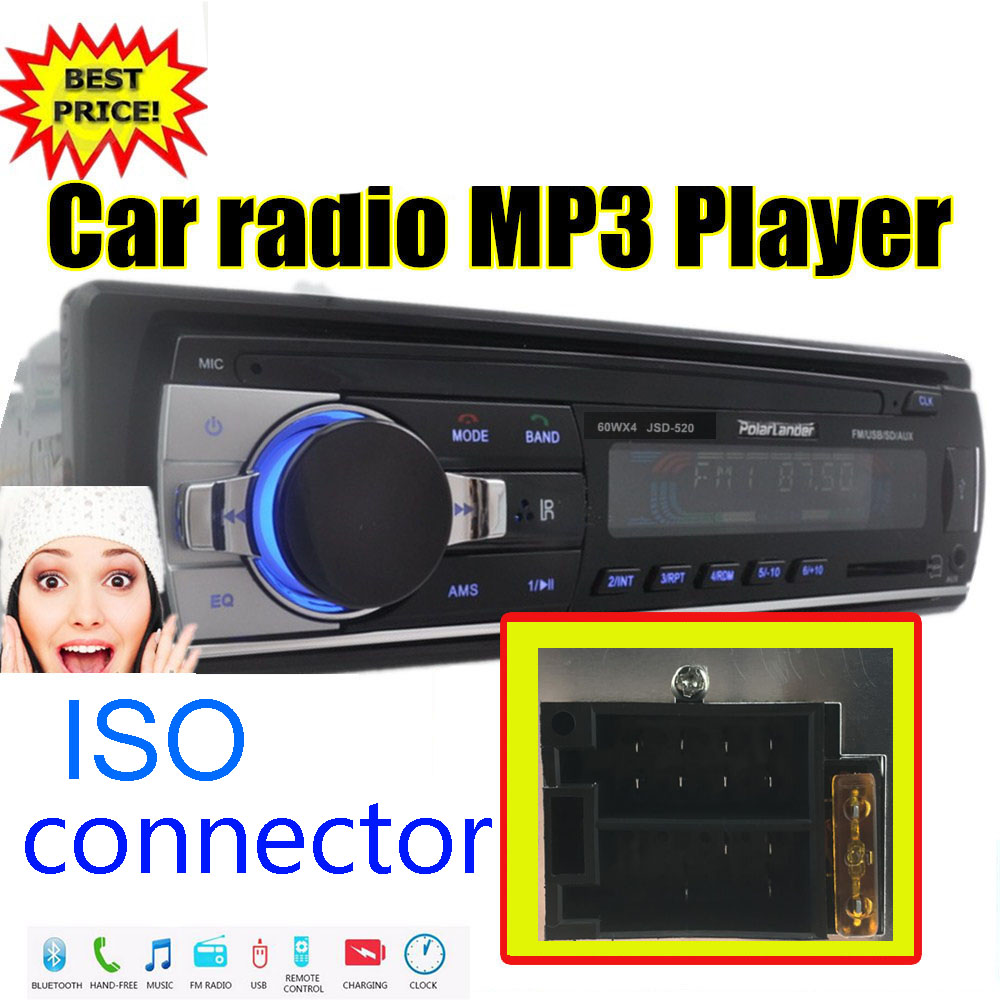 10 PCS Wholesale Price Shipped From US FR AU Car Radio Stereo Player Bluetooth Phone AUX