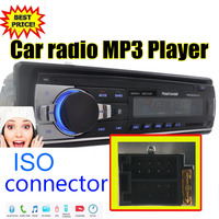 Car Radio Stereo Player Bluetooth Phone AUX IN MP3 FM USB 1 Din Remote Control For