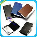 Stainless Steel Metal Business Name Credit Card Pocket Holder Case Box Wallet Keeper