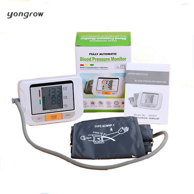 yongrow Blood Pressure Monitor Tonometer Fully Automatic Digital Upper Arm Blood Pressure Monitor BP Monitor