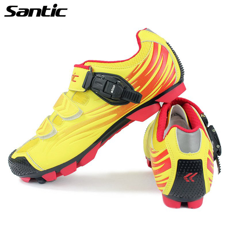 Santic Cycling Shoes Men Self-Locking MTB Bike Shoes Athletic Bicycle Shoes Ciclismo Zapatos professional bicycle cycling shoes mountains bike racing athletic shoes breathable mtb self locking shoes ciclismo zapatos