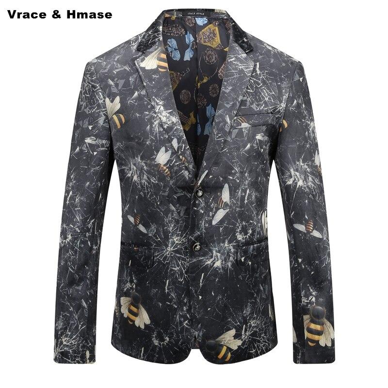 3d M Abeille As Numérique Impression Masculino Mode Style Hommes Motif Haute Blazer Personnalité Américain 2018 Picture Nouveau Qualité 3xl De Boutique c5Aq4jL3R