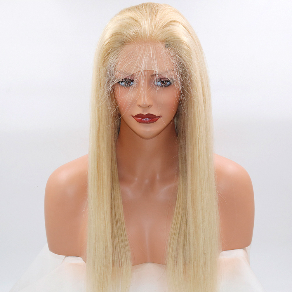 Eversilky #22 13x6 Lace Front Human Hair Wigs Pre Plucked With Baby Hair For Women Brazilian Blonde Lace Front Wig Remy Hair