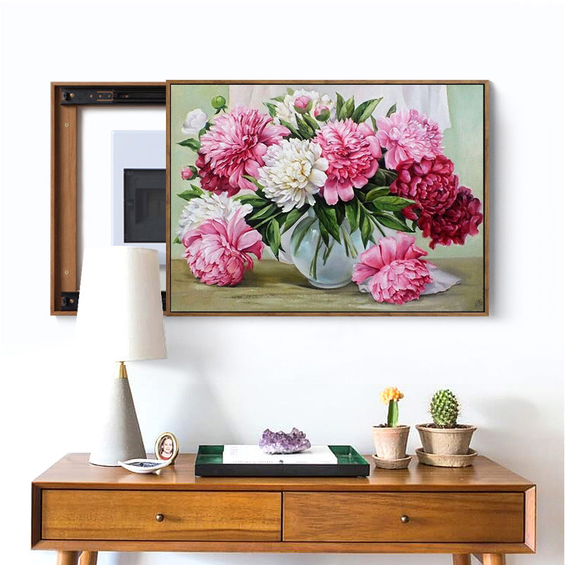 Meian,Full Needlework,40x50cm,Embroidery,DIY Fruit Flowers Painting,Cross Stitch,kits,14CT Cross-stitch,Sets Embroidery,VS-29