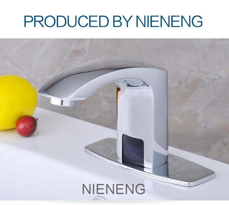 NIENENG sense faucets sink taps hotel washroom bathroom faucet lab ...
