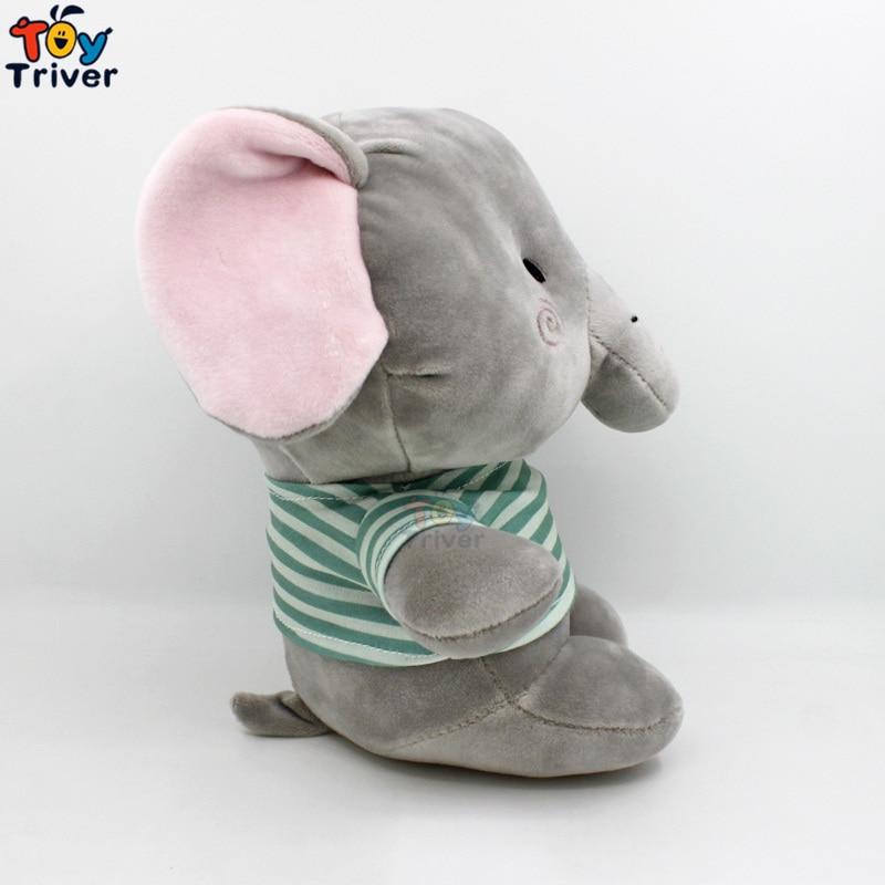 25cm Kawaii Plush Elephant Toy Stuffed Animal Doll Baby Girl Boy Kids Children Birthday Promotion Gift Sleeping Toy in Stuffed Plush Animals from Toys Hobbies