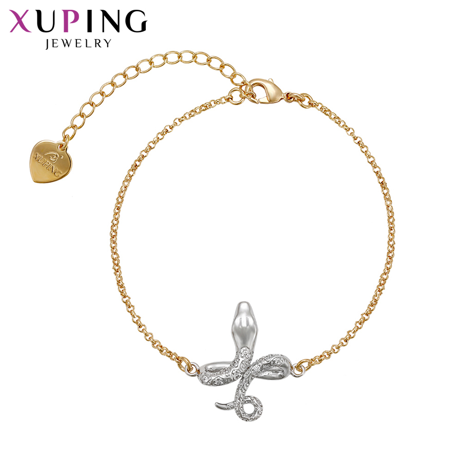 Xuping Fashion Bracelets Temperament Charm Style Bracelets For Women Girls Imitation Jewelry Engagement Gift S71,1-71262 Durable Service Chain & Link Bracelets
