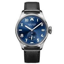 Marca Original Agelcoer Aço Luxo Mens Relógios À Prova D' Água Roleingly Relógio Dos Homens Mecânico Automático Assista Relogio masculino