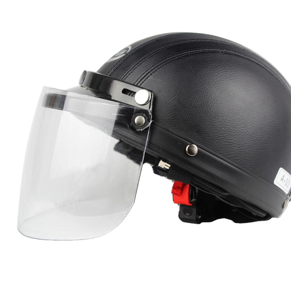 KKMOON Flip Up Visor Shield For Helmet Universal Open Face visor Sun Shading Shield of Helmet Motorcycle