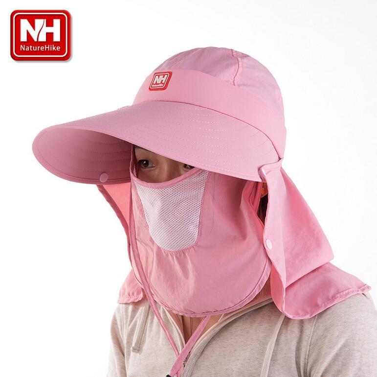 NatureHike Nouvelle Unisexe antipoussière À séchage Rapide grand Chapeau Pliable chapeau de Soleil Topee NH12M006-Z