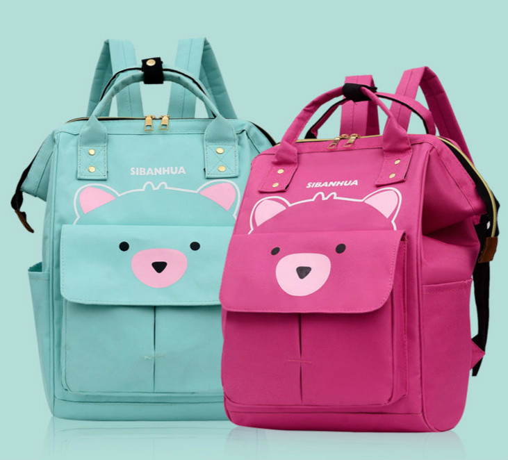 Mommy Package Woman Baby Package Both Shoulders Portable More Function Capacity Mom Diaper Bag Maternal Child Bag