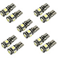 CARPRIE 10 X Canbus Error Free T10 5-SMD 5050 W5W 194 16 Interior LED bulbs car-styling led car styling car-covers h7 led 12v