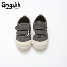 Shoes Kids Girls Canvas Boy Flats Sneaker Flat 2019 Fashion Tenis Infantil Loafers Children Whites Casual