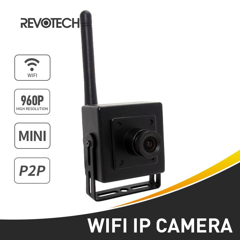 imágenes para WIFI 1280x960 P 1.3MP Mini Cámara IP ONVIF P2P CCTV Cámara IP de Cámaras de Seguridad de Interior Negro